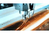 In ống đồng trên màng cuộn nilon sản phẩm cho ngành may công ty Trường Giang